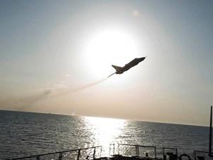 """Rusya'ya Ait Savaş Uçağından """"Tehlikeli"""" Uçuş"""