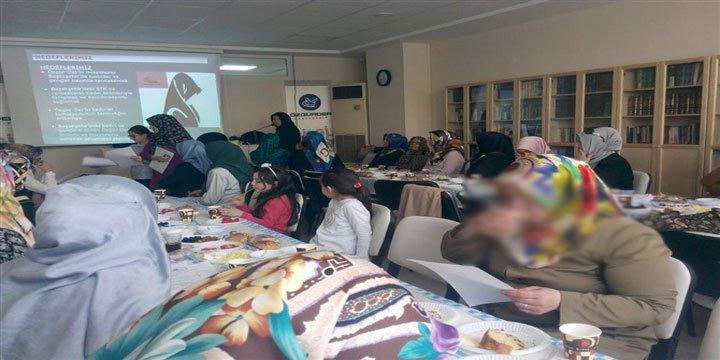 Başakşehir Özgür-Der'de Tanışma ve Kaynaşma Etkinliği Gerçekleştirildi