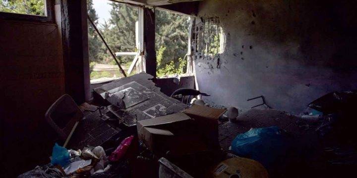 PKK'lılar Nusaybin'de Okul ve Diyaliz Merkezini Yaktı