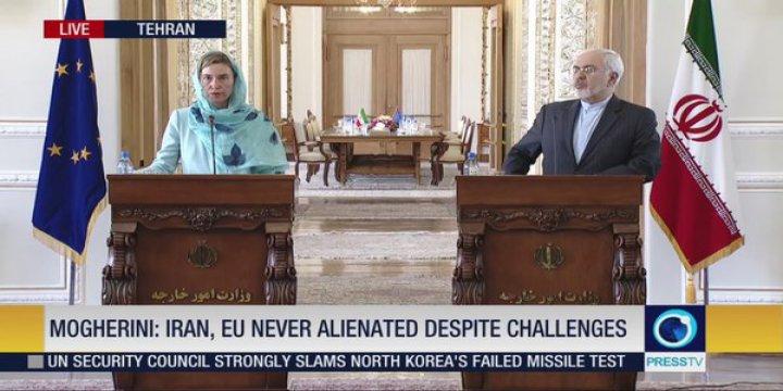 AB'den İran'a Küresel Sisteme Dönüş Desteği