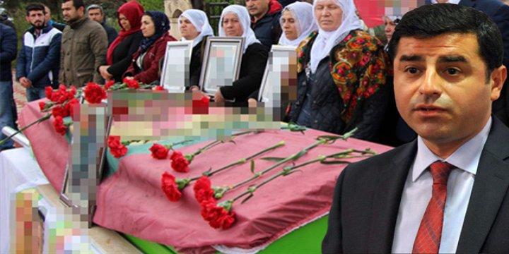 Demirtaş PKK'nın Garzan Sorumlusunun Taziyesine Katıldı