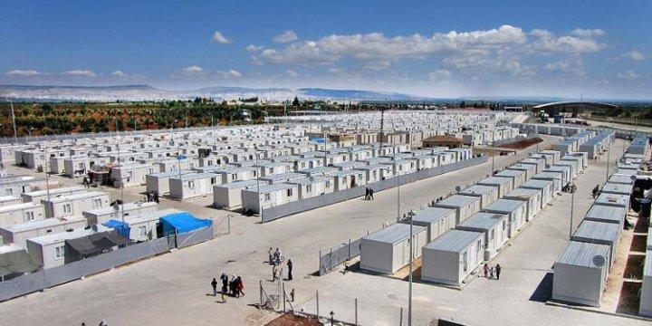 TOKİ'den Suriyeliler İçin 3 Yeni Konteynerkent!