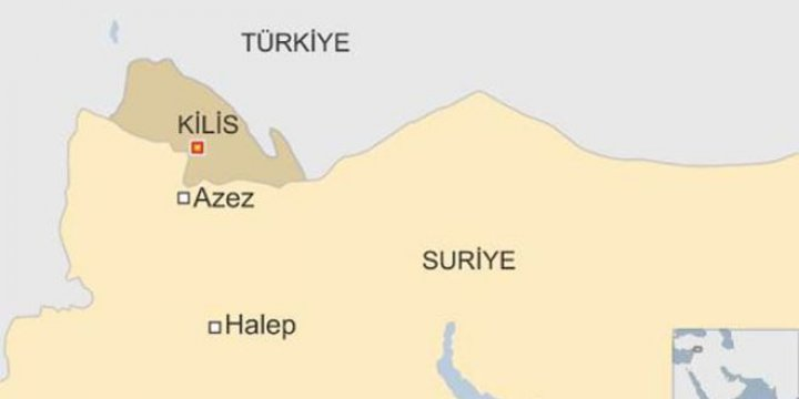 Kilis'e Yine Roket Mermisi Düştü: 1 Ölü, 1 Yaralı