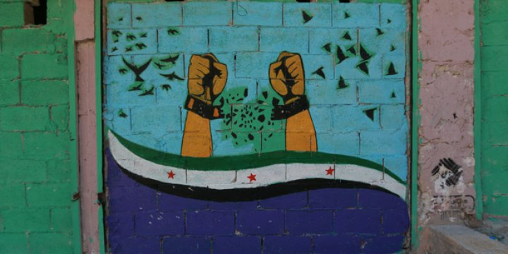 Halepli Sanatçılar Duygularını Duvarlara Yansıtıyor!