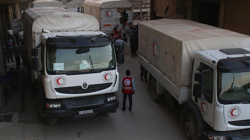Suriye'de Göstermelik İnsani Yardım