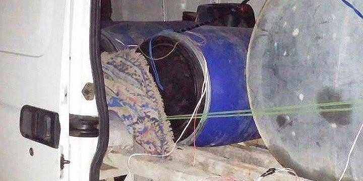 Van'da Patlayıcı Yüklü Kamyon Ele Geçirildi