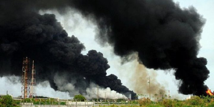 Meksika'da Petrol Tesisinde Patlama