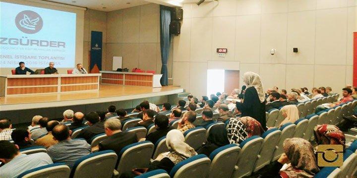 Özgür-Der'in 16. Genel İstişare Toplantısı Başladı