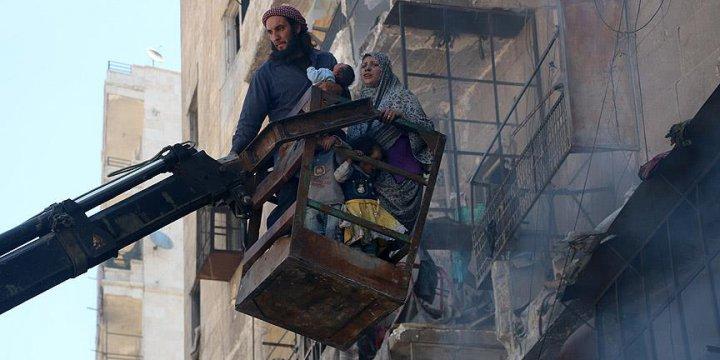 Rus Savaş Uçakları Halep'i Vurdu: 12 Ölü