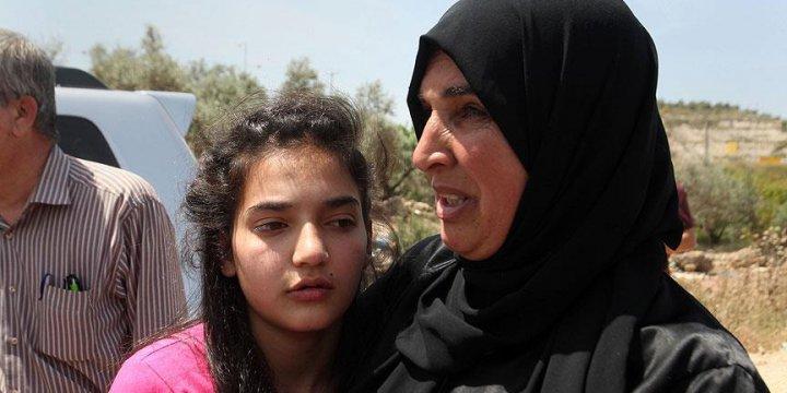 12 Yaşındaki Filistinli Esir Serbest Bırakıldı