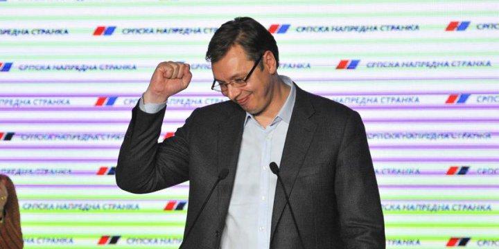 Sırbistan'daki Seçimde Vucic, Oyların Yüzde 50,9'unu Aldı