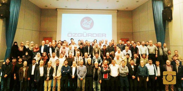 Özgür-Der 16. Genel İstişare Toplantısı İstanbul'da Yapıldı