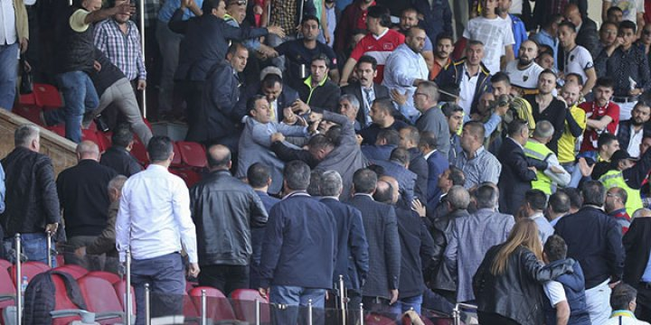 Amedspor Yöneticilerine Saldırı Anı Kamerada