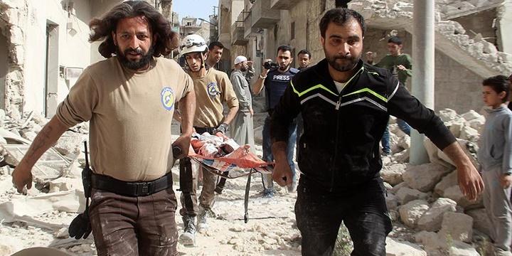 Rusya Halep'e Saldırdı: 18 Kişi Hayatını Kaybetti!
