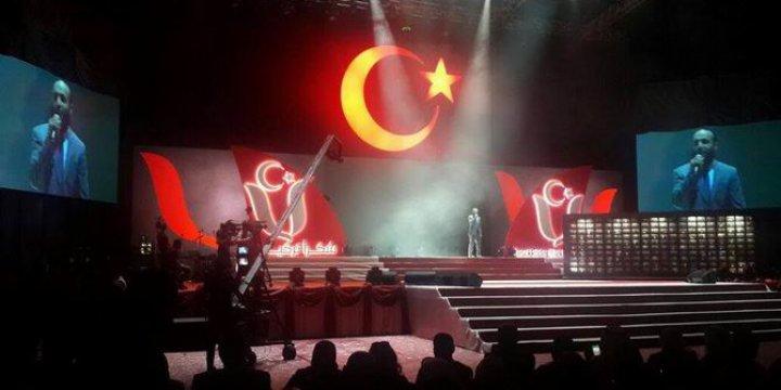 """Araplardan """"Teşekkürler Türkiye"""" Festivali"""