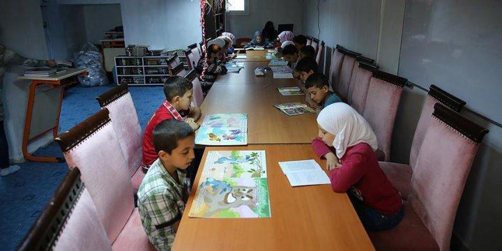Suriyeli Çocuklar İçin Kütüphane Açıldı