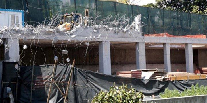 Reza Zarrab'ın Villasının Kaçak Katı Yıkıldı