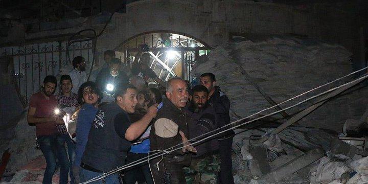 Rus Jeti Halep'te Sahra Hastanesini Vurdu: 30 Ölü, 62 Yaralı