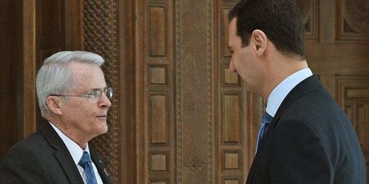 ABD'li Senatör Şam'da Esed'e Destek Çağrısı Yaptı!