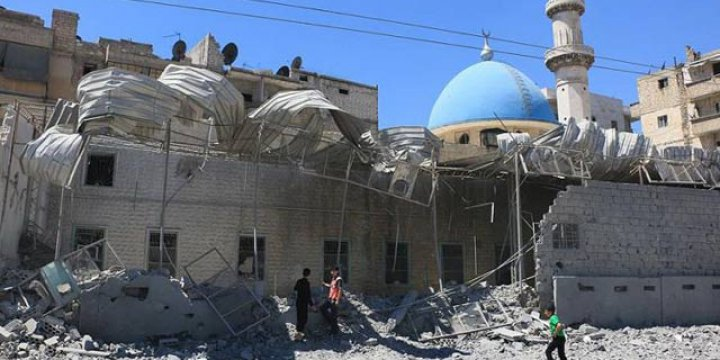 Halep'te İlk Kez Cuma Namazı Kılınamadı