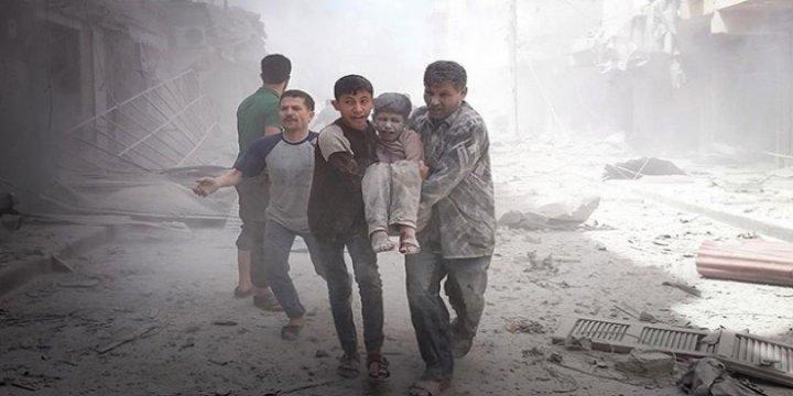 Esed Rejimi Halep'i Havadan Vurdu: 11 Ölü