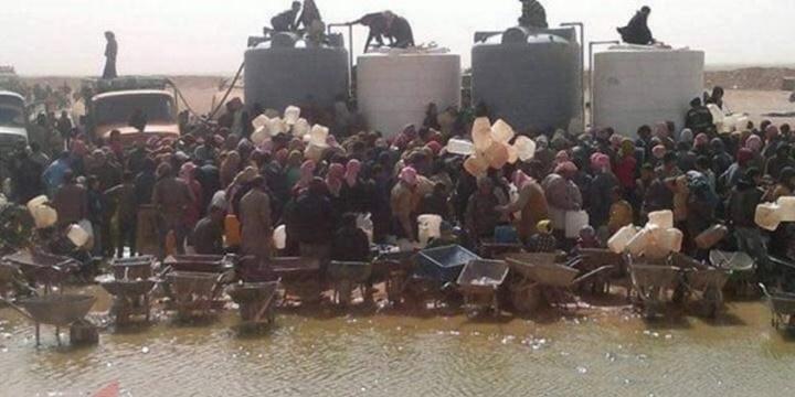 Ürdün Sınırındaki Suriyeli Mültecilerin Hâli İçler Acısı!