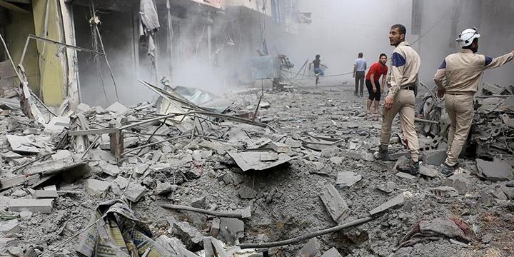 Esed Rejimi Halep'e Saldırdı: 7 Kişi Hayatını Kaybetti, 30 Kişi Yaralandı!