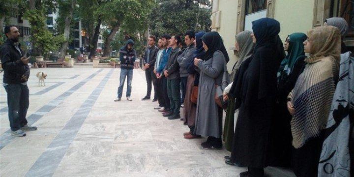 Rusya'nın Halep'teki Katliamları Kocaeli'de Protesto Edildi