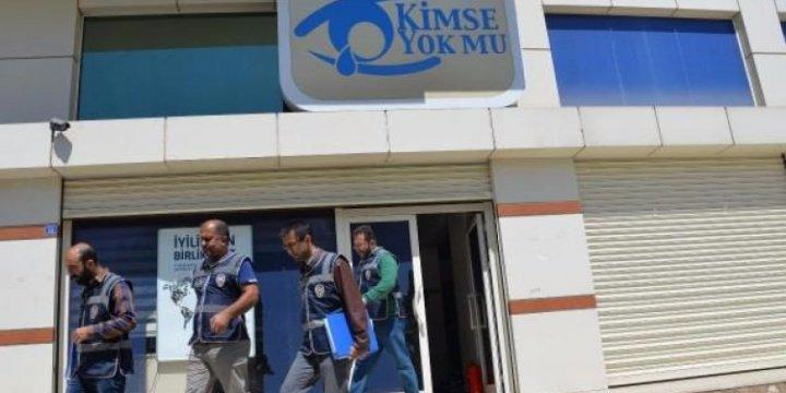 """Diyarbakır'da """"Kimse Yok Mu"""" Derneği'ne Operasyon!"""