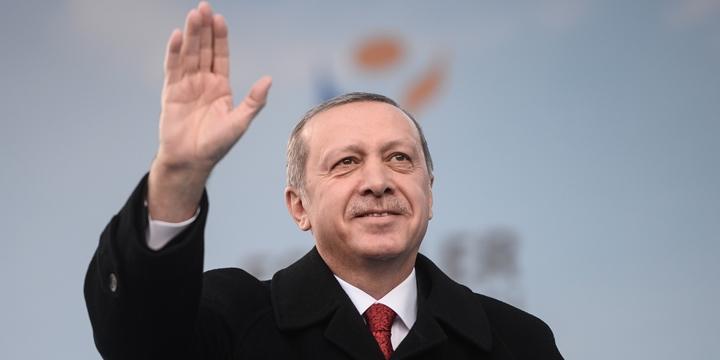 Erdoğan: İmanlı Yüreğinizle Onları Püskürttünüz