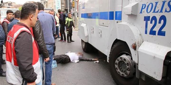 """İstanbul'da """"TOMA""""nın Çarptığı Bir Kişi Hayatını Kaybetti!"""