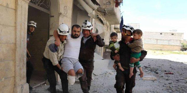 Cenevre Sonrası Halep'e Bomba Yağdı