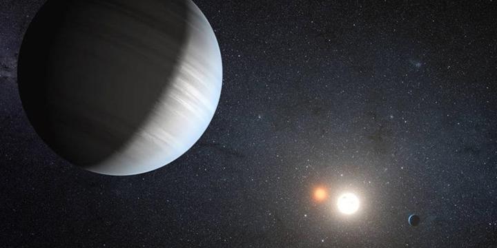 Sönük Işıklı Bir Yıldız Etrafında Üç Gezegen Keşfedildi