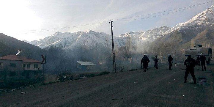 Çukurca'nın Çığlı Köyünde Sokağa Çıkma Yasağı İlanı