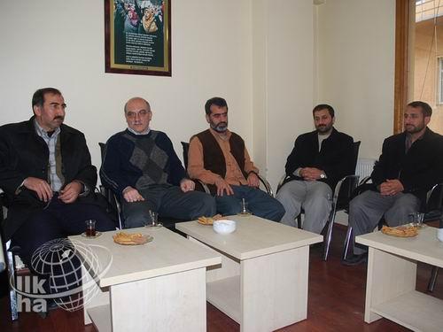Mustazaf-Der'den Özgür-Dere destek ziyareti