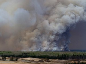 Kanada'da Yangın Nedeniyle Olağanüstü Hal İlan Edildi