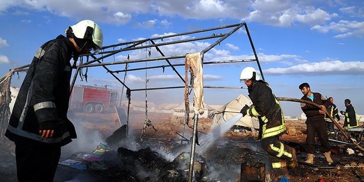 """""""Suriye'de Çadır Kente Yönelik Saldırı Barbarca"""""""