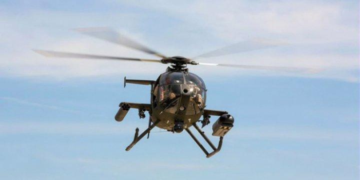 Askeri Helikopter Taliban Tarafından Düşürüldü