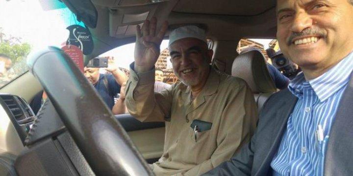 Şeyh Raid Salah Ummu'l-Fahm'da Müslümanlarla Vedalaştı