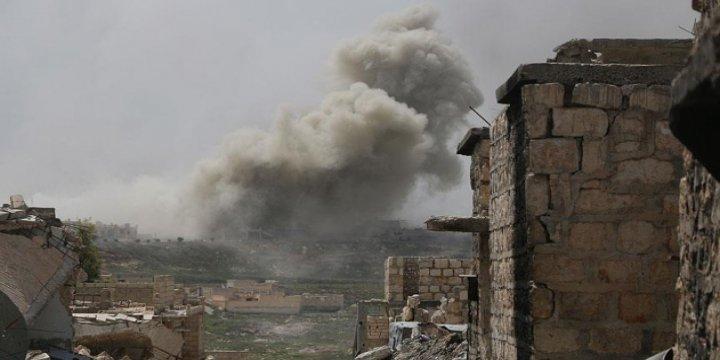 'İran Askerleri Suriye'de Rus Hava Desteğiyle Savaşıyor'