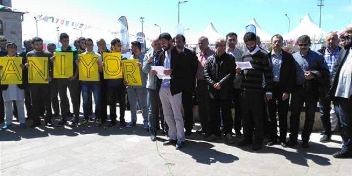 Giresun'da Halep ile Dayanışma Eylemi Yapıldı