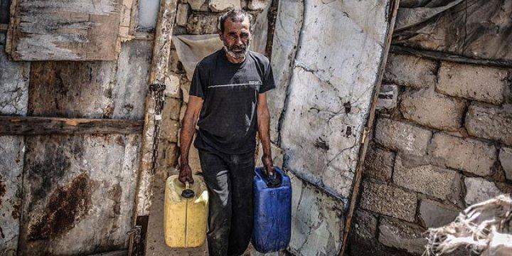 Gazze'de İçme Suyu Sıkıntısı Had Safhada