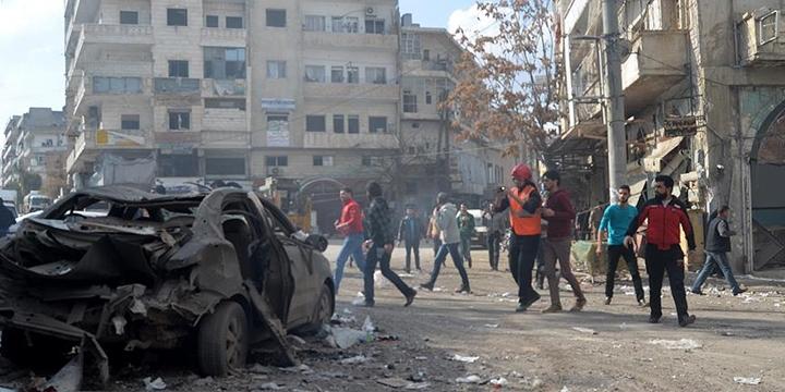 Esed Rejimi İdlib'de Sivillere Saldırdı: 10 Kişi Hayatını Kaybetti!