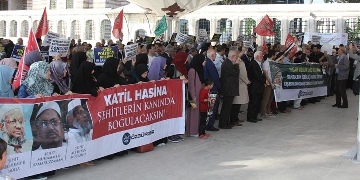 Fatih Camii'nde Rahman Nizami İçin Gıyabî Cenaze Namazı Kılındı