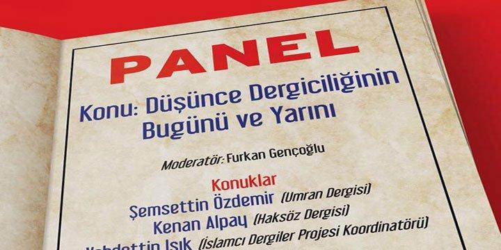 """TÜRDEB'de """"Düşünce Dergiciliğinin Bugünü ve Yarını"""" Değerlendirilecek"""