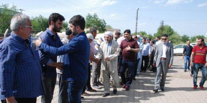 İslami STK'lardan Tanışık Köyüne Taziye Ziyareti