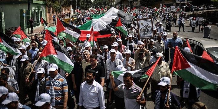 Gazze'de Nekbe Yürüyüşü: Mutlaka Döneceğiz