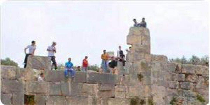Siyonistler Peduel Kalesini Yerleşke Sınırları İçine Dahil Etti