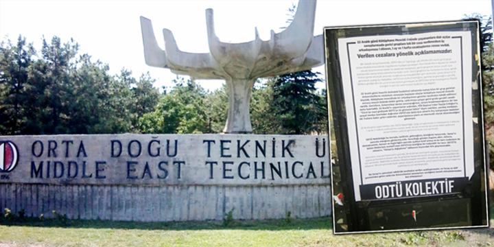 ODTÜ'de Sol Çetelerin Mescid Hazımsızlığı Sürüyor!
