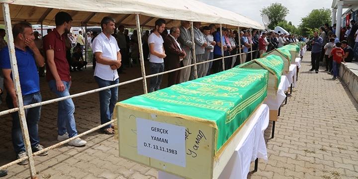 PKK'nın Roboski'si: 13 Cenaze 60 Kilogram!